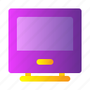 device, display, monitor, screen, technology icon