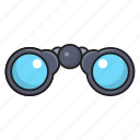 binocular, find, spy, view, zoom icon