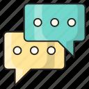 chat, messages, communication, support, conversation