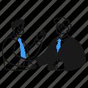 business, deal, agreement, contract, arrangement, handshake, cooperation, partnership icon