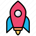 launch, rocket, startup, space