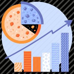business, chart, graph, analytics, statistics, dashboard, increase