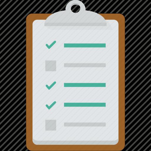 business, checklist, list, missions, process, steps, tasks, tick, work icon