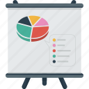 analyze, analyzis, board, business, diagram, graph, presentation, sales, standee icon