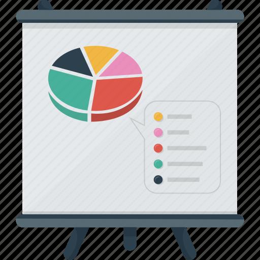 analyze, analyzis, board, business, diagram, graph, presentation, sales, standee icon