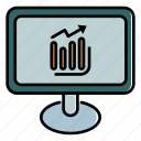 computer, report, sales, monitoring