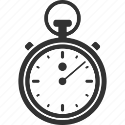 deadline, efficiency, performance, stopwatch, time, timing icon