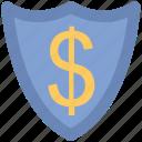 business safe, economy security, locked shield, protect shield, protection, security shield icon