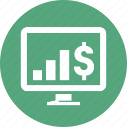 analytics, business growth, graph, profit, statistics icon