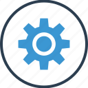 gear, options, rotate, setup, work, working icon