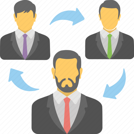 business group, business people, human resource, organization, team icon