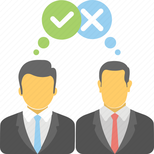 business survey, employees feedback, self assessment, staff engagement, work satisfaction icon