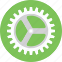 cogwheel, gear, gear wheel, management, technology icon