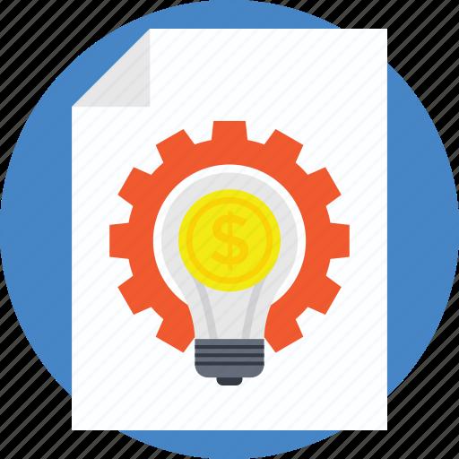 business management, content management, cost management, e-commerce, electronic document preparation icon