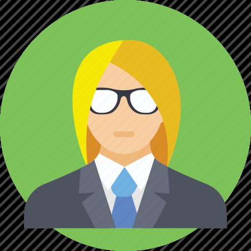 business lady, business person, businesswoman, capitalist, entrepreneur icon
