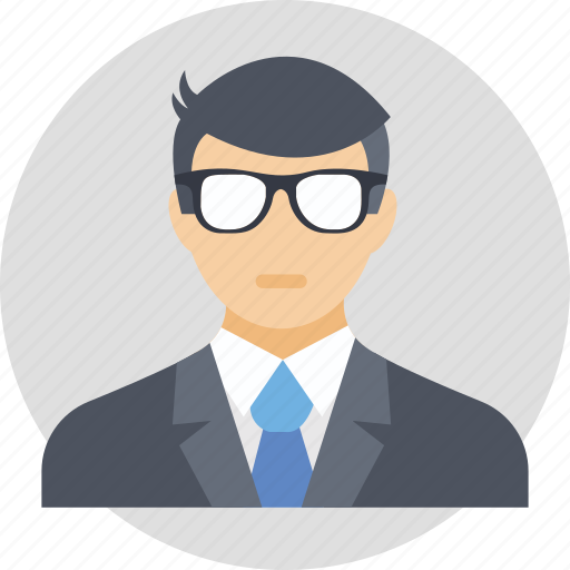 business person, businessman, capitalist, entrepreneur, industrialist icon