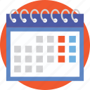 appointment, event, meeting, schedule, timetable icon