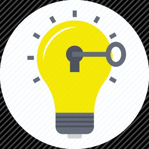 bright idea, creative idea, creativity, discovery, innovation icon