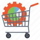 ecommerce solutions, ecommerce technology, online shopping cart system, order management, shopping cart icon