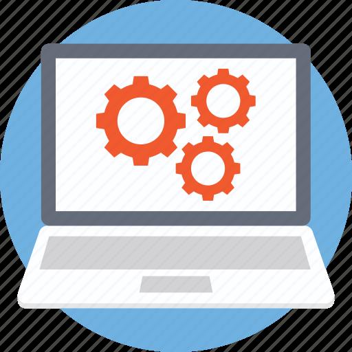 computer sciences, computer technology, information technology, internet technology icon