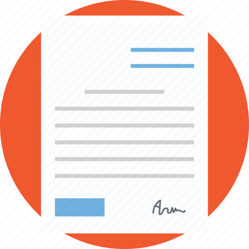 agreement, consent, contract, document, legal document icon