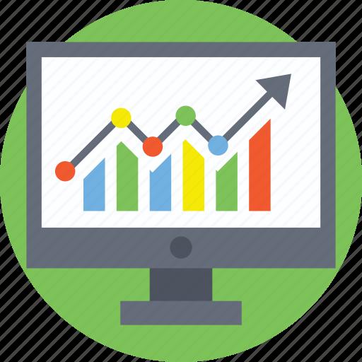 data analysis, seo performance, web analytics, website dashboard, website statistics icon