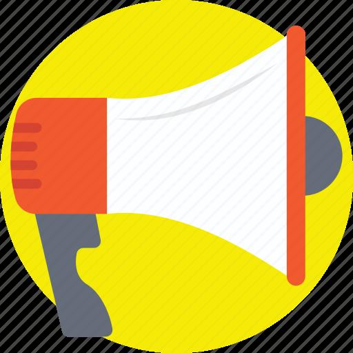 announcement, loudspeaker, megaphone, promotion, special offer icon