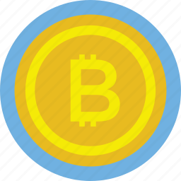 bitcoin, cryptocurrency, digital currency, golden coin, physical bitcoin icon