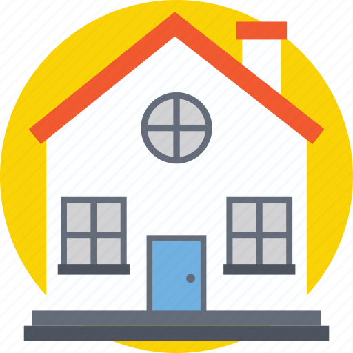 building, home, house, hut, villa icon
