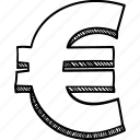 currency symbol, eurozone economy, euro sign, official currency of eurozone, euro