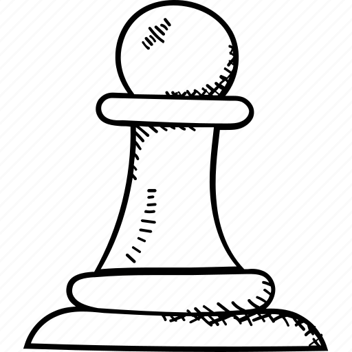 chess, chess pawn, game, strategy, target planning icon