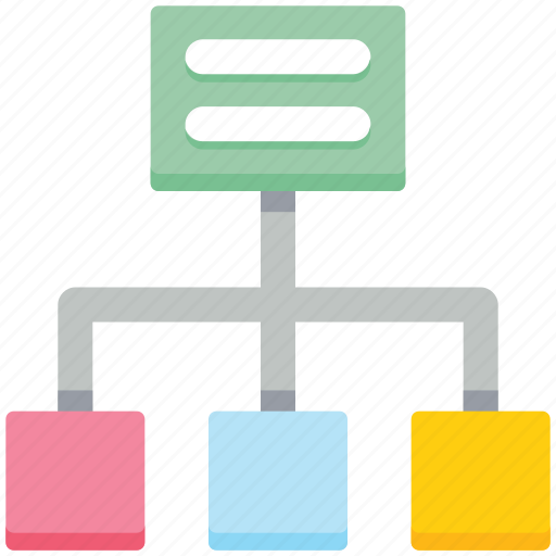 business, chart, connection, internet, networking icon