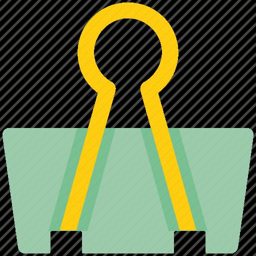 clamp, clamp clip, clip, paper clamp, paper clip icon