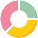 business, chart, diagram, pie chart icon
