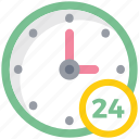 24hours, clock, customer support, schedule, time, watch