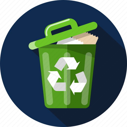 basket, container, delete, garbage, recycle bin, remove, trash icon