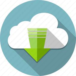 access, arrow, cloud, computing, down, download, up icon