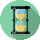 clock, hourglass, sand, sandglass, schedule, time, watch icon