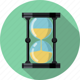 clock, hourglass, sand, sandglass, schedule, time, watch icon