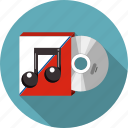audio, box, cd, communication, disc, dvd, media icon