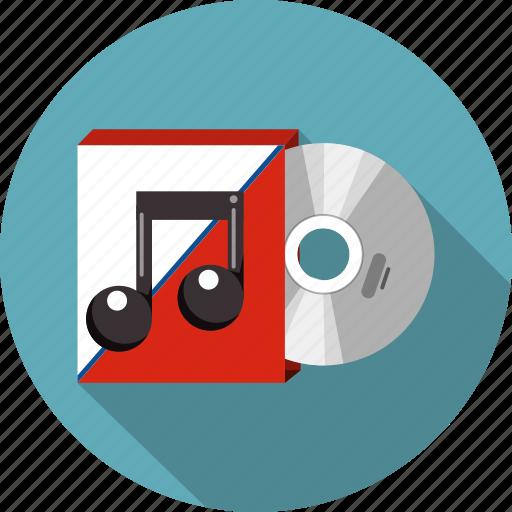 audio, box, cd, communication, disc, dvd, media icon