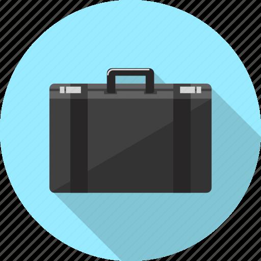 baggage, briefcase, case, luggage, suitcase, travel, vacation icon