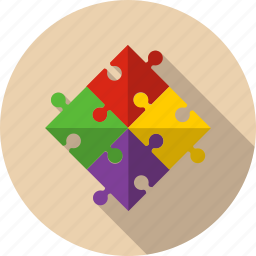 agreement, alliance, business, marketing, piece, puzzle, team icon