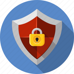 antivirus, guard, padlock, password, protect, security, shield icon