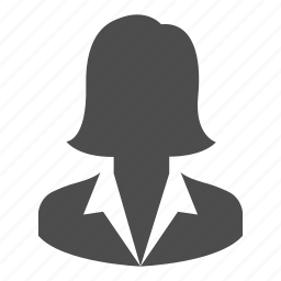 avatar, business, person, profile, user, woman icon