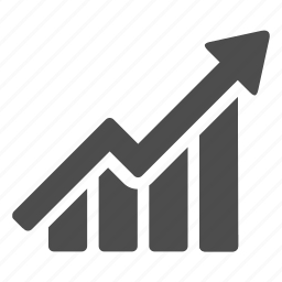 business, chart, diagram, finance, graph, growth, success icon