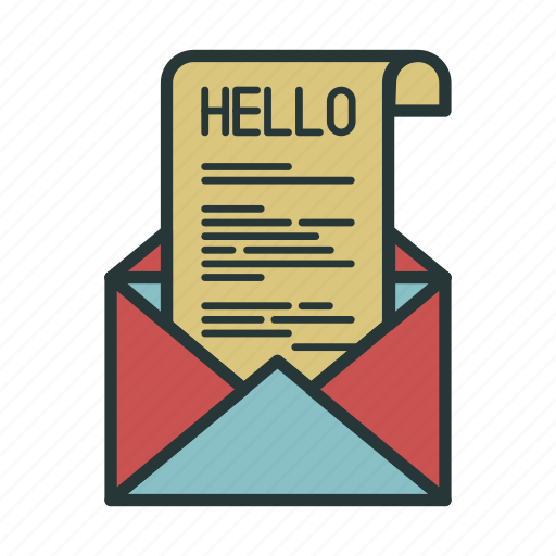 Envelope, hello, letter, message, communication, email, mail icon - Download on Iconfinder