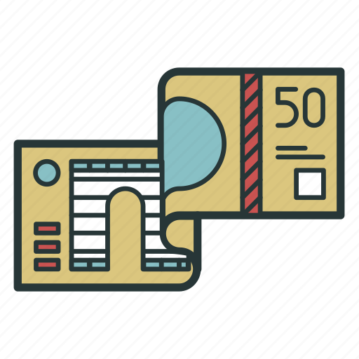 banknote, bill, cash, currency, financial, money icon