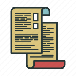 document, documents, extension, file, images, paper, text icon