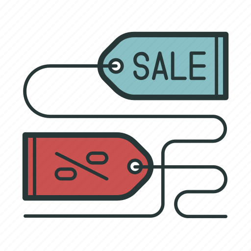 closeout, discount, ecommerce, lable, price, sale icon